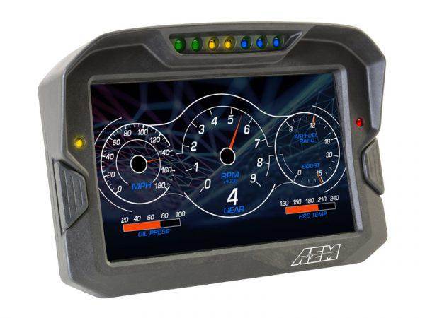 AEM  CD-7 Carbon Non-Logging/ Non-GPS Display
