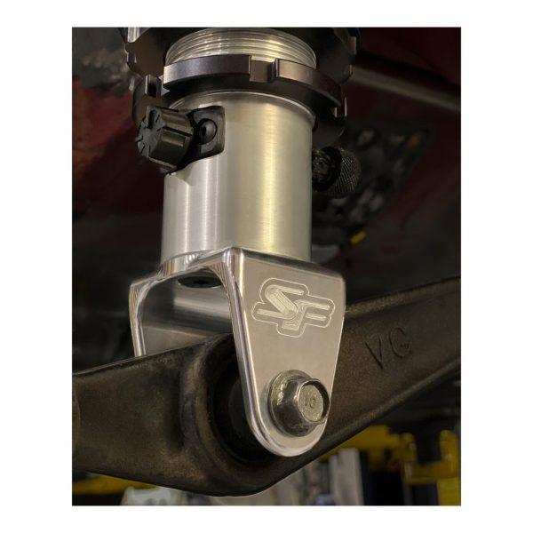 SpeedFactory Billet Honda AWD / FWD Rear Strange Engineering™ Shock Brackets , Sold as a pair